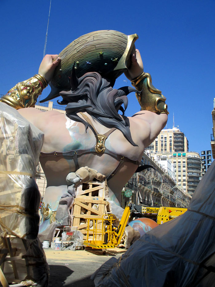 fallas valencia sightseeing