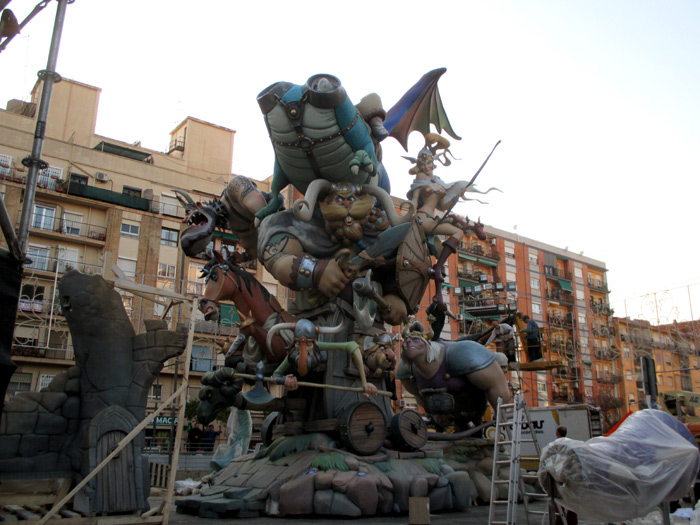 fallas sightseeing